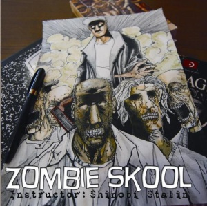Cover artwork for Shinobi Stalin's Zombie Skool